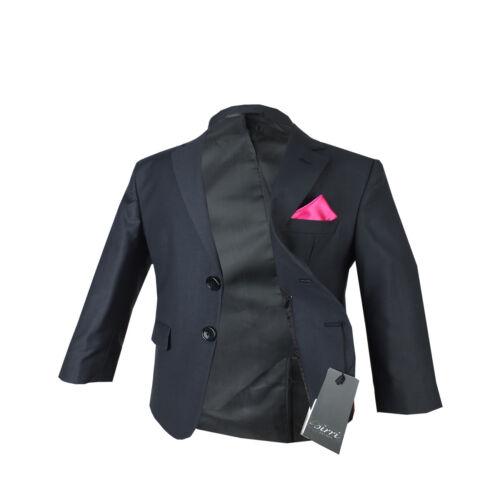 Boys Grey Formal Wedding Suits Dark grey Kids Suit Kids 1st Communion Outfit