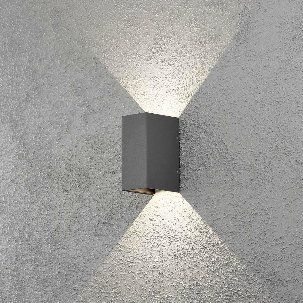 Konstsmide 7940-370 Cremona LED Applique D'Extérieur Individuel Réglable Lic