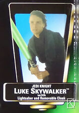 Luke Skywalker Jedi Knight Unopened Star Wars POTF2 Action Figure Green NoHolog