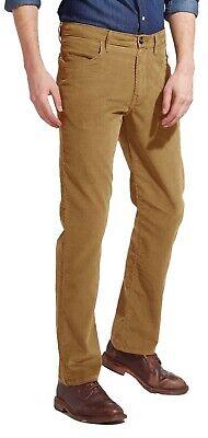 Wrangler Arizona New Stretch Cords Mens Straight Leg Corduroy Jeans Black