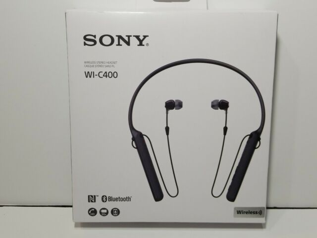 Sony Stereo Bluetooth Nfc Wireless Headset Sbh60 Black For Sale Online Ebay