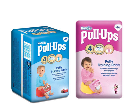 Huggies Day Time Pull Ups (Large,Small / Boy,Girl)