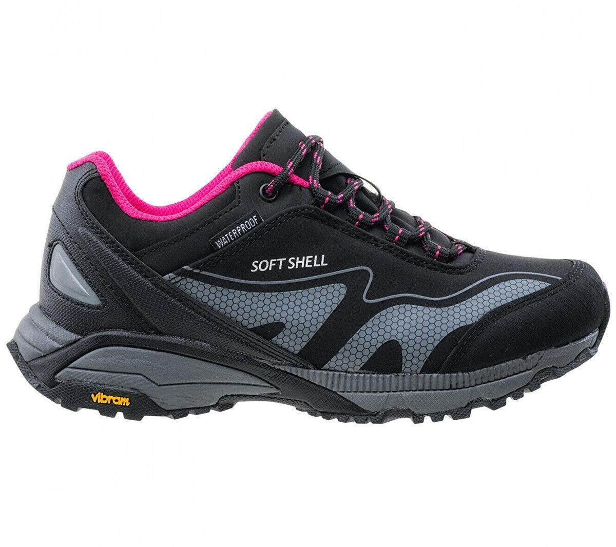 Hi-Tec Kangri Low Wp Softshell Vibram shoes Women's Hiking Outdoor Mountain