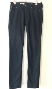AG-Adriano-Goldschmied-The-Stilt-Cigarette-Leg-Skinny-Jean-Navy-Blue-Size-25R