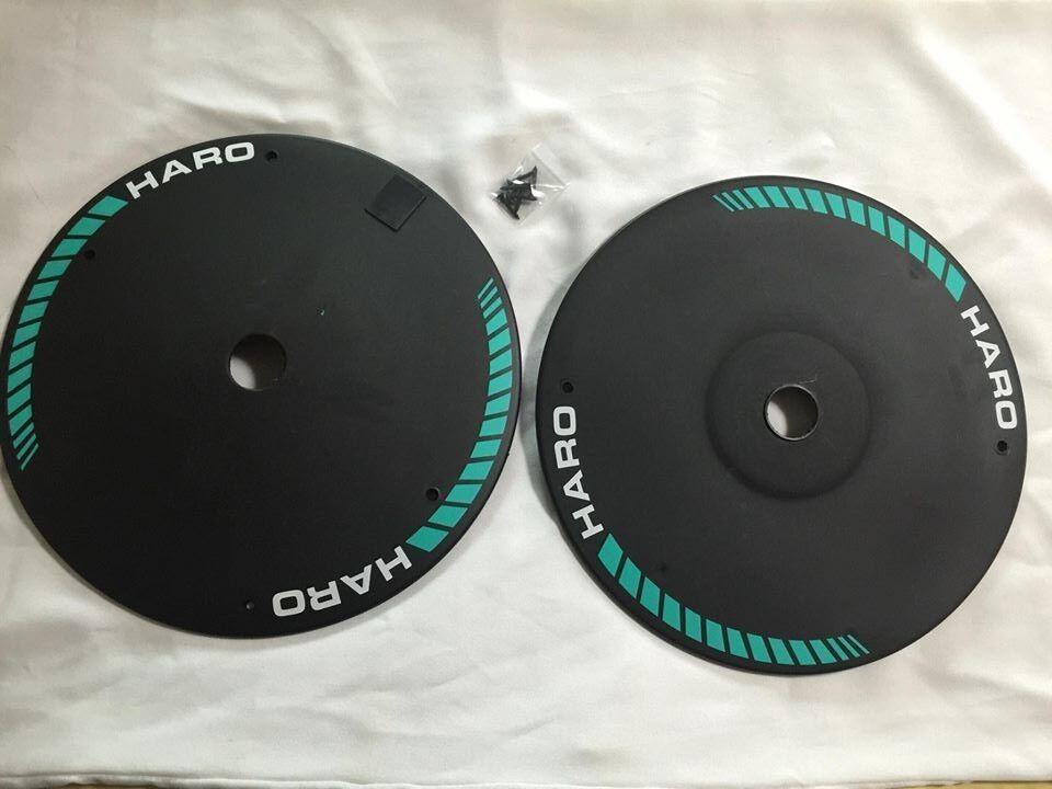 NOS OS BMX HARO anlun Wheel Cover rim hub 20  master sport freestyler gt group 1