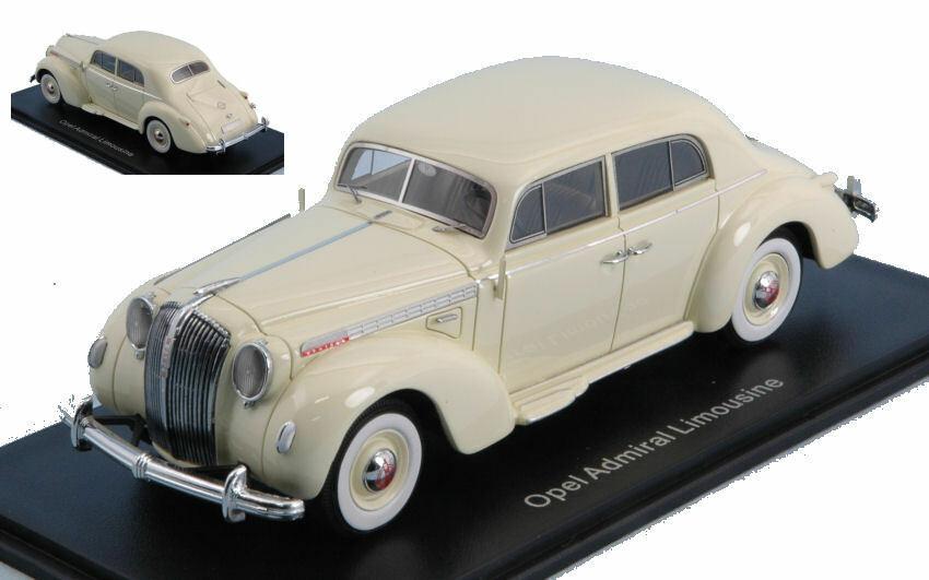 OPEL ammiraglio Limousine 1938 blancoo 1 43 MODEL NEO Scale Models