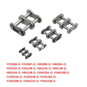 4PCS 160 Standard Roller Chain Connecting Link