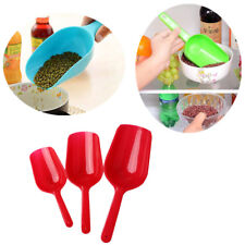 3pcs//set  Plastic Scoops Sweets Candy Buffet Wedding Party Bar Accessories  Te