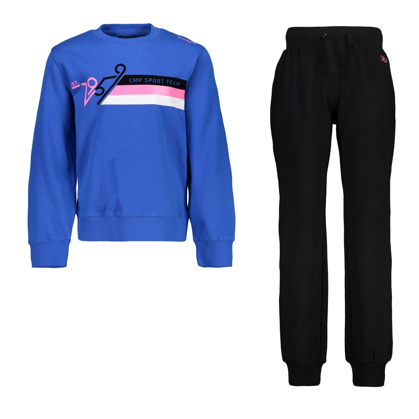 CMP Trainingsanzug  Sweater Jogginganzug bluee Rundhals sportlich  sale with high discount