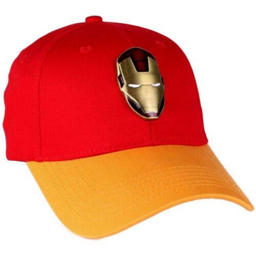 Iron Man Baseball Cap Casquette Bonnet Basecap-metal vintage Avengers Marvel Comics