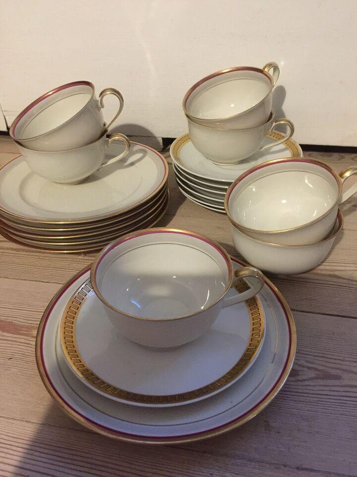 Porcelæn, Kaffekopper og kagetallerkner, V E B - R import og