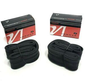 Presta Valve 33mm 2-PACK INNOVA Bicycle Inner Tube 700 x 25-32
