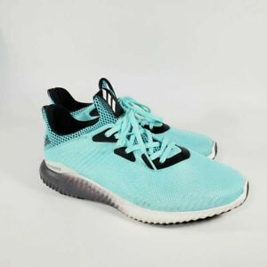 Adidas-Womens-Alphabounce-1-Running-Shoes-Cyan-B39429-Low-Top-Lace-Up-7-5-M
