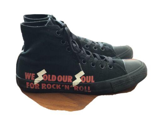 Converse Black Sabbath High Tops Rare M9W11