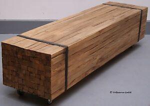 teak tv planken lowboard toulouse teakholz antik massiv vintage rustikal 160x40 ebay. Black Bedroom Furniture Sets. Home Design Ideas