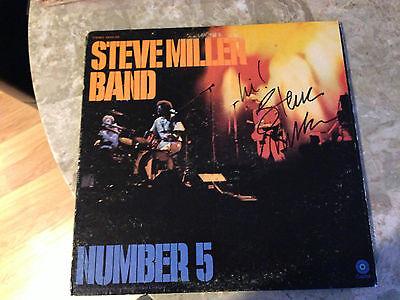 Steve Miller Autographed Number 5 Lp Jsa # I25443 Autographs-original