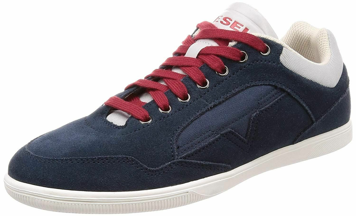 Diesel Happy Hours S-Happy Low Navy White Mens Trainers
