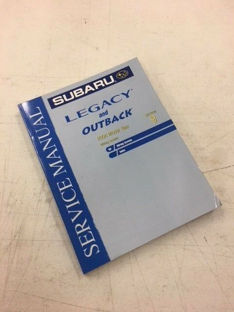 2004 Subaru Legacy Outback Vol 9 Wiring Diagram Evtm Shop Service Repair Manual