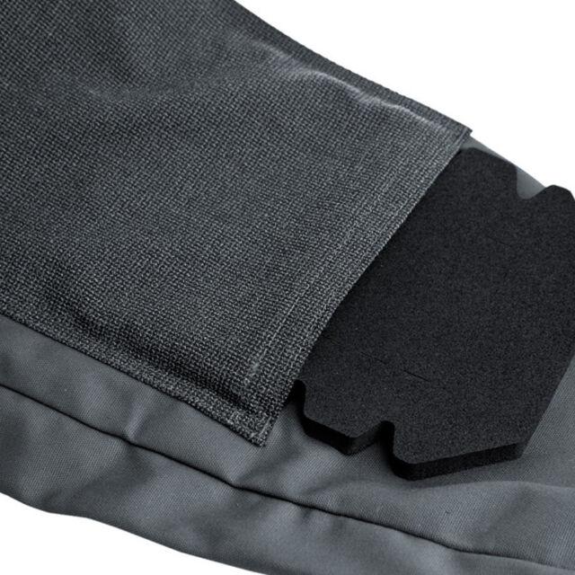 PFANNER StretchZone Canvas Latzhose grau schwarz Hose Arbeitshose Arbeit Bau
