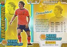 N°393 IBRAHIMOVIC # SWEDEN FC.BARCELONA PSG MEGACRACKS CARD PANINI LIGA 2011