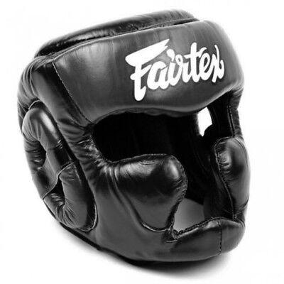 Fairtex hg14/Full Face/ Thai Boxing MMA K de 1/Head Gear Guard/ /Protector de Cabeza /