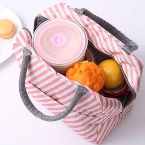 Tragbar Picknick Isolierte Brotdosen Camping Kühlbox Erwachsene Kinder Lunch Bag