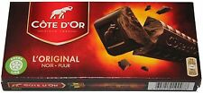Côte d'Or Noir/Puur 400g (2x200g) belgische dunkle Schokolade Belgien