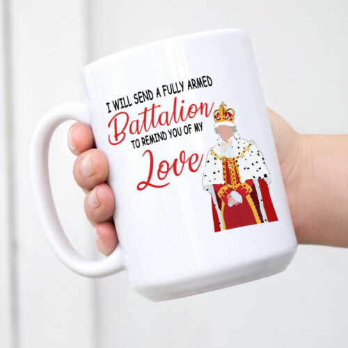 King George Chorus Hamilton Funny Remind You of My Love Coffee Mug White