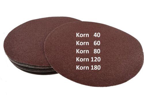 25 Klett Schleifscheiben für Schleifgiraffe Ø 225 mm MIX Korn 40-180 Klett Haft