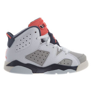 77b6d1538cf6 Jordan 6 Retro Tinker Little Kids 384666-104 White Infrared Shoes ...