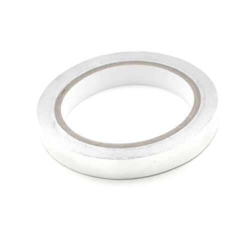 1PC 15mm Aluminum Foil Joint Sealing Radiation Thermal Resist Adhesive Tapes LD
