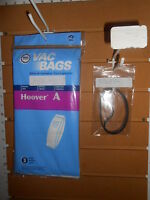 Hoover A & Bissell 2 Bags W/free Belts(pt433896) L-p B71