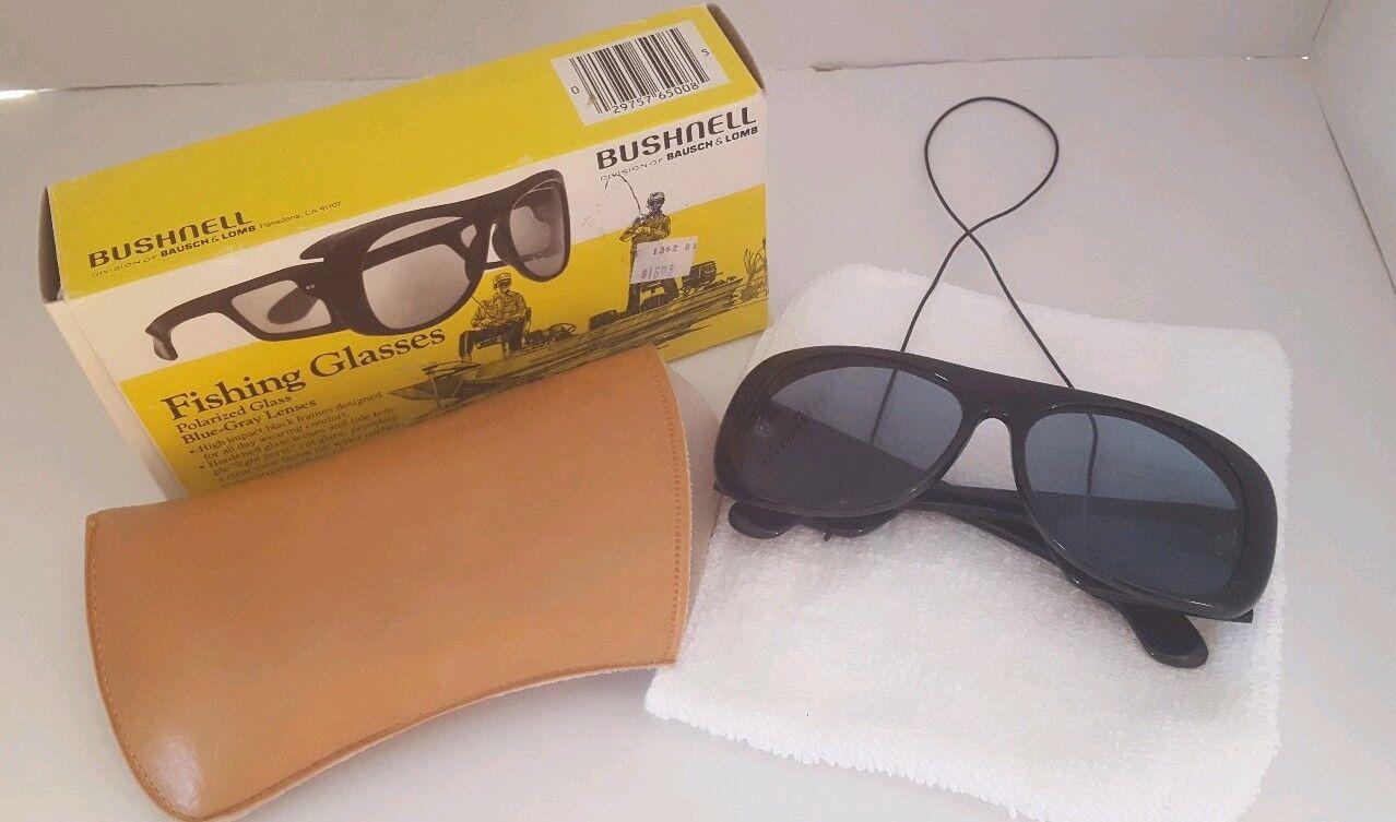 Vintage Bushnell Polariserat fiske solglasögon, utmärkt villkor med Box
