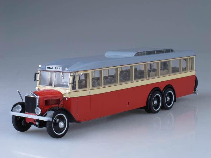Bus 1 43 AY-2  yagaz  1934 Modelos Ultra UM43-A4 2