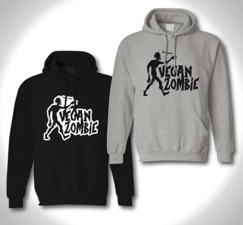 Vegan Zombie-Hoodie-Meat Free vegetarien Péta Horror Punk Hardcore XXX HC