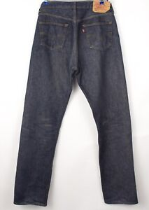 Levi's Strauss & Co Hommes 501 Jeans Jambe Droite Taille W36 L36 BCZ972