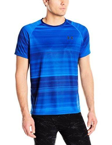 Pick SZ//Color. Under Armour Apparel Mens Tech Printed Short Sleeve Shirt