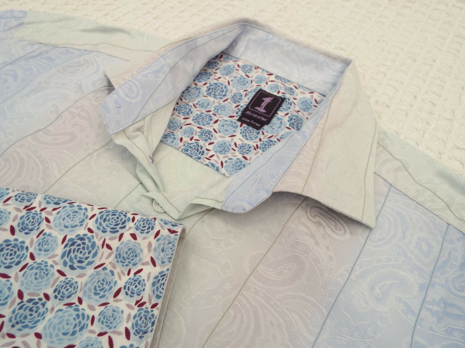 1 LIKE NO OTHER Mens Shirt   Size 3 (46