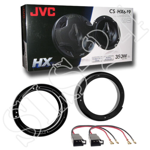 VW Lupo Fox New Beetle altavoces anillos 165 mm JVC cs-hx649 boxeo 350w adaptador