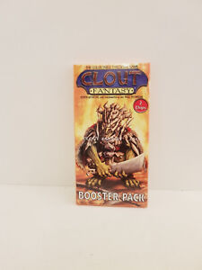 Clout-Fantasy-Booster-Pack-2-chips-999-Games-NOS-unopened
