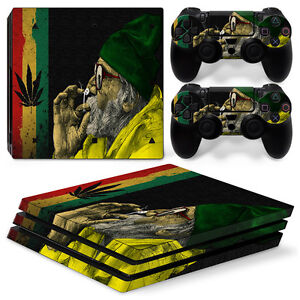 Faceplates, Decals & Stickers Apprehensive Sony Ps4 Playstation 4 Pro Skin Aufkleber Schutzfolie Set Cannabis 11 Motiv