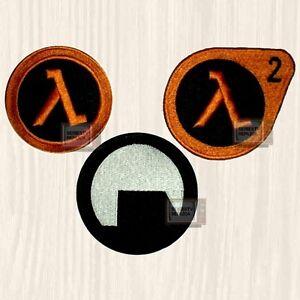 Half-Life Patches Set Black Mesa Logo Lambda Corporation ...