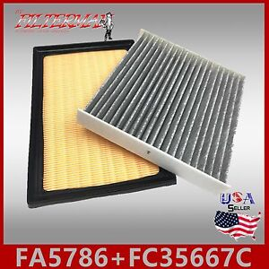 FA5786 FC35667 49310 24488 ENGINE /& CABIN AIR FILTER 2012-2017 CAMRY HYBRID 2.5