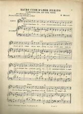 Cantate Domino Canticum Novum! Spartiti per Canto e Pianoforte 1913