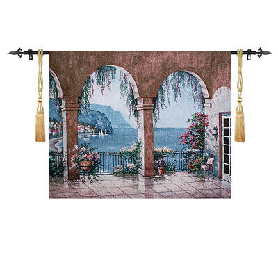 SIGHT Venice style Medieval Fine Art Tapestry Wall Hanging Living Room Deco