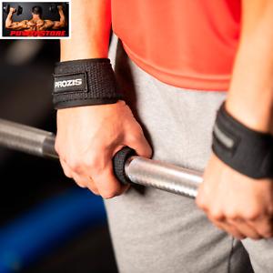 PROZIS Fasce Polsi Palestra Fitness Cinghie Sollevamento Pesi Bodybuilding