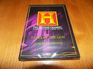 TALES-OF-THE-GUN-Guns-of-REMINGTON-History-Channel-Gun-Firearms-Rifle-DVD-NEW