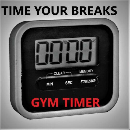 Eddie Hall Time your brakes Gym Timer rest wrap belt fitness