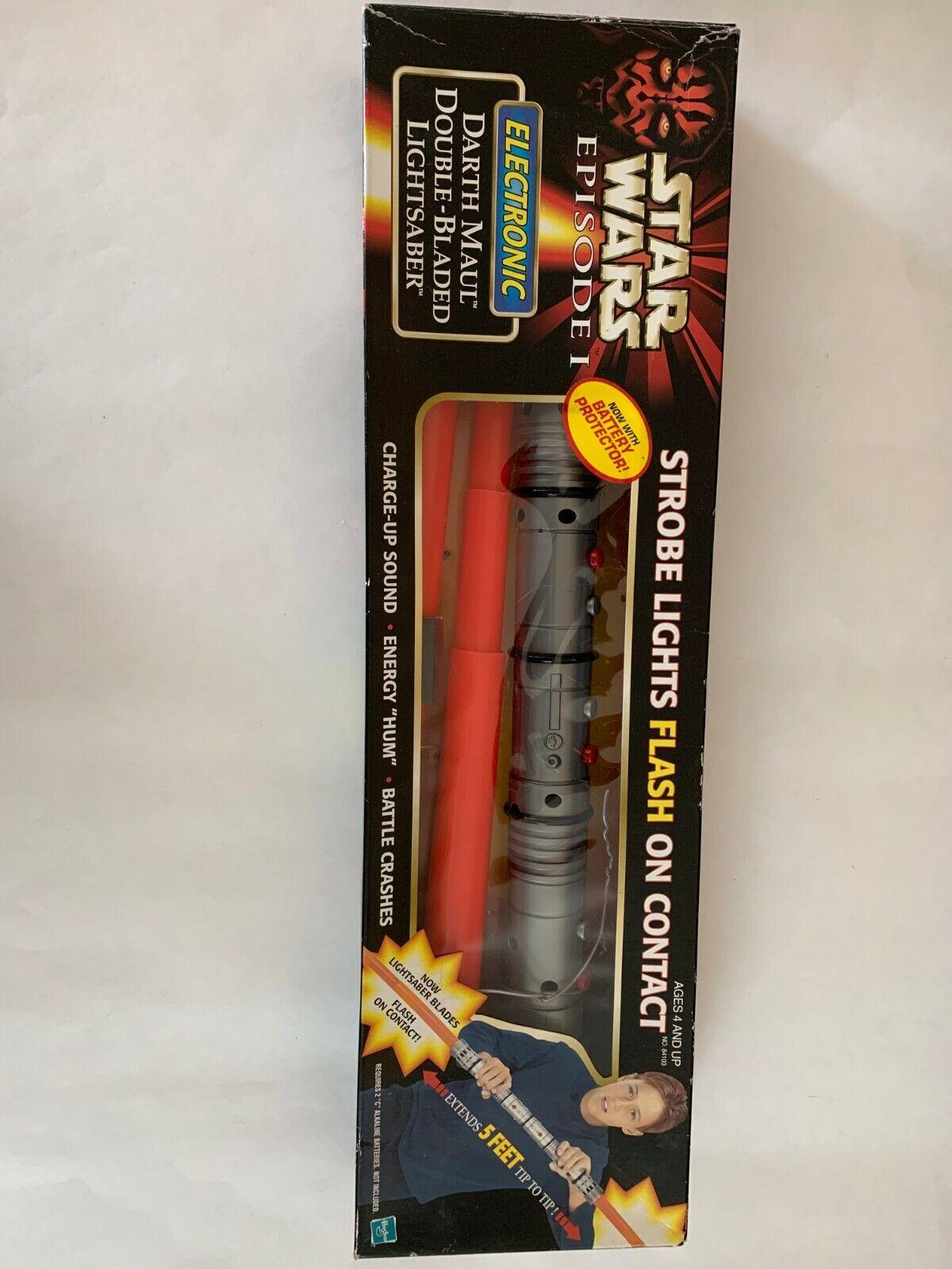 Star Wars Episode 1 1998 1998 1998 Darth Maul Double Bladed Light Saber (Hasbro) 202486