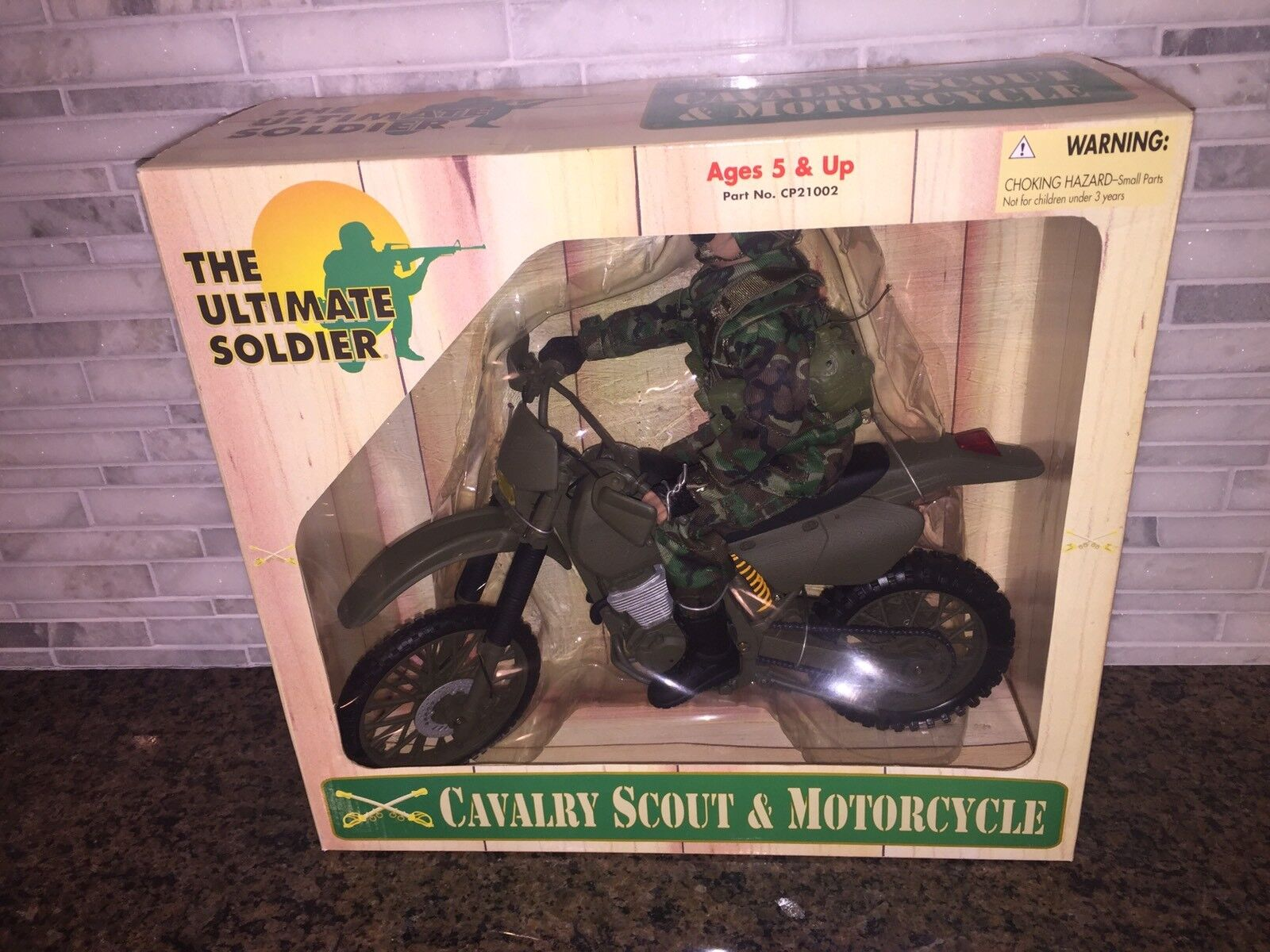 THE ULTIMATE SOLDIER CAVALRY SCOUT & MOTORCYCLE CP21002